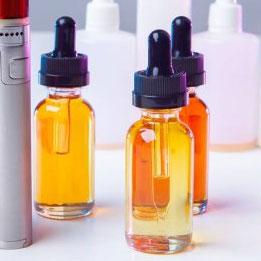 Une vaste gamme d'e-liquide